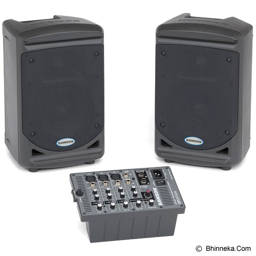 SAMSON Portable Pro Audio System [XP150] - Monitor Speaker System Active